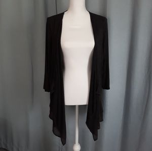 Lane Bryant lightweight charcoal cardigan 14 16
